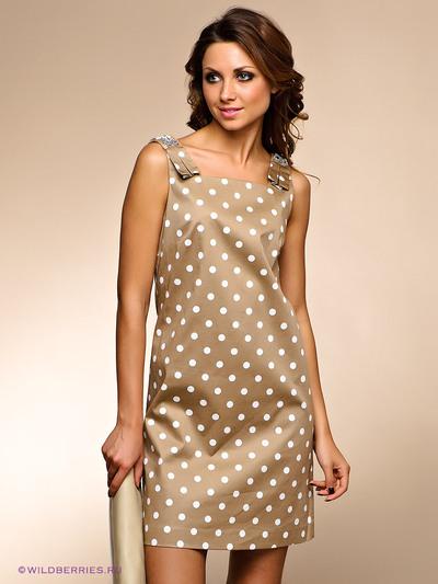 Платья в горошек: актуальные фасоны и стильные композиции
