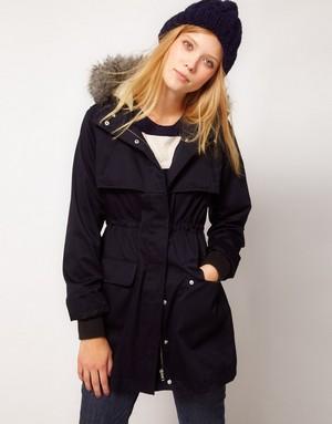 лучшие варианты курток-парок для молодых женщин и девушек