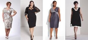 женщины с лишним весом должны знать, какие модели платьев подходят им больше всего