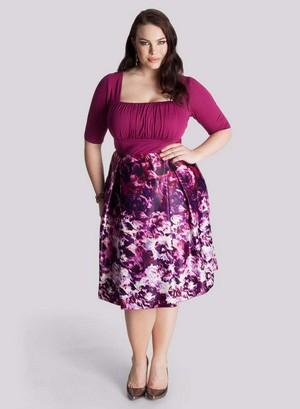 модели платьев для женщин, страдающих лишним весом - не все потеряно!