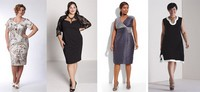 Модели платьев для полных женщин