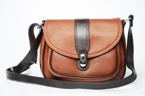 кожаные сумки, которые носят на ремешке через плечо, очень практичны и красивы