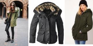 лучшие варианты курток парок для молодых женщин