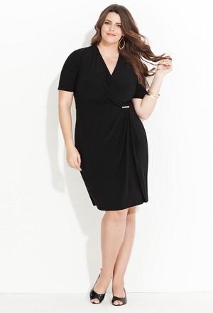 самые стильные и красивые варианты одежды для женщин и девушек с полнотой