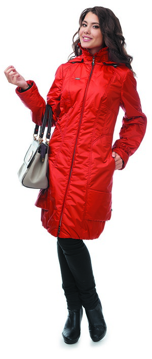 с чем лучше одеть женскую демисезонную куртку