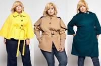 как выбрать и с чем носить осеннее пальто женщине с лишним весом