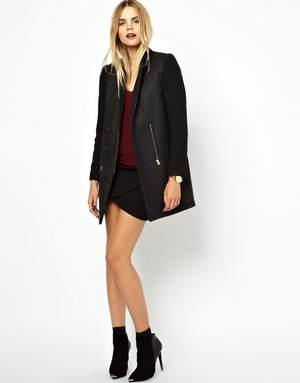 короткое пальто для женщин - привлеките внимание к своим стройным ножкам