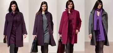 пальто для полных женщин - цены, советы по выбору, подходящие аксессуары