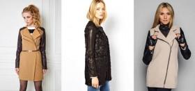 Привлеките к себе внимание, одев пальто с рукавами из кожи: как выбрать, сколько оно стоит, с чем носить?