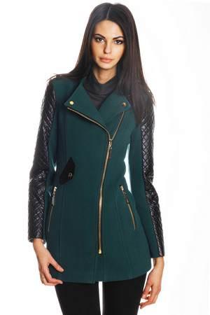 пальто с кожаными рукавами - цена, отзывы, с чем носить, где лучше приобрести