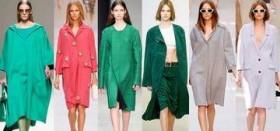 Как выбрать и с чем лучше носить пальто без воротника?