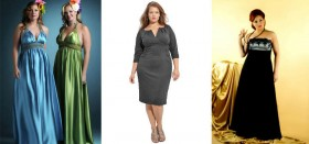 Как женщине или девушке с полнотой выбрать вечернее платье?