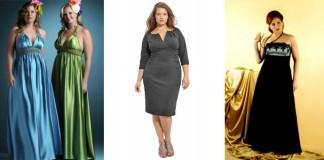 вечерние платья для полных девушек и женщин - как выбрать, сколько стоят, с чем лучше носить