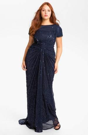 вечерние платья для женщин и девушек с полнотой: как выбрать, где купить, с чем носить