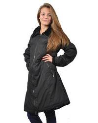 женское зимнее пальто на синтепоне