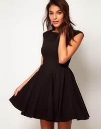 все о коротких платьях с пышной юбкой - как выбрать, где купить, с чем одеть