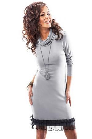 трикотажное платье с длинными рукавами - где купить, как выбрать, отзывы и цены