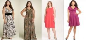 Как женщине с полнотой выбрать летнее платье и с чем его носить: лучшие советы