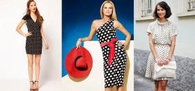 Самые популярные фасоны платьев «в горошек»: цены, советы по выбору, отзывы