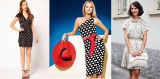 Как выбрать платье в горошек, с чем оно сочетается, сколько стоит, отзывы и советы стилистов - все в нашей статье
