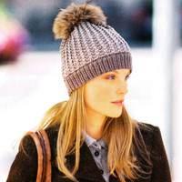 советы стилистов по выбору женской шапки дополненной помпоном из меха, отзывы, цены, аксессуары