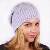 как выбрать женскую вязаную шапку