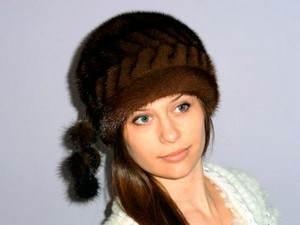 женские шапки из меха норки - цена, как выбрать, отзывы