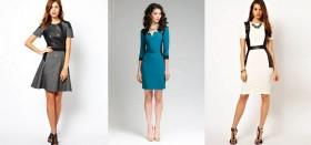 Как выбрать платье со вставками из кожи: лучшие советы