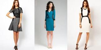 платье со вставками из кожи - как выбрать, сколько стоит, где купить, с чем лучше носить