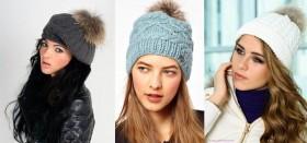 Лучшие советы по выбору женской шапки, дополненной помпоном из меха