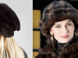 женские норковые шапки - цена, с чем носить, как выбрать, отзывы