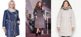 Как девушке с лишним весом правильно выбрать себе зимнее пальто?