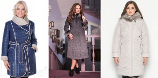 зимние женские пальто большого размера - цена, советы по выбору, отзывы, аксессуары