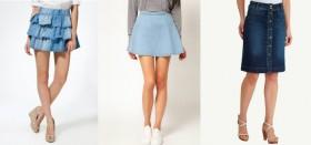 Джинсовая юбка: с чем можно носить этот универсальный предмет гардероба?