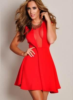 Где купить красное платье изоражения