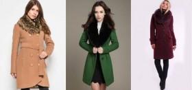 Как быть красивой в холодное время года: выбираем зимнее кашемировое пальто с меховым воротником