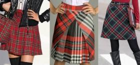 Что носить с юбкой в клетку: популярные фасоны, полезные рекомендации модницам