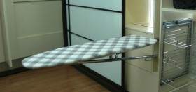 Стоит ли покупать гладильную доску, встроенную в шкаф?
