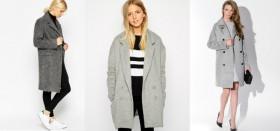 Универсальное серое пальто: с чем носить и как выбрать?