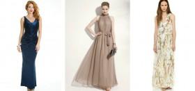 Как выбрать красивое длинное дамское платье без рукавов?