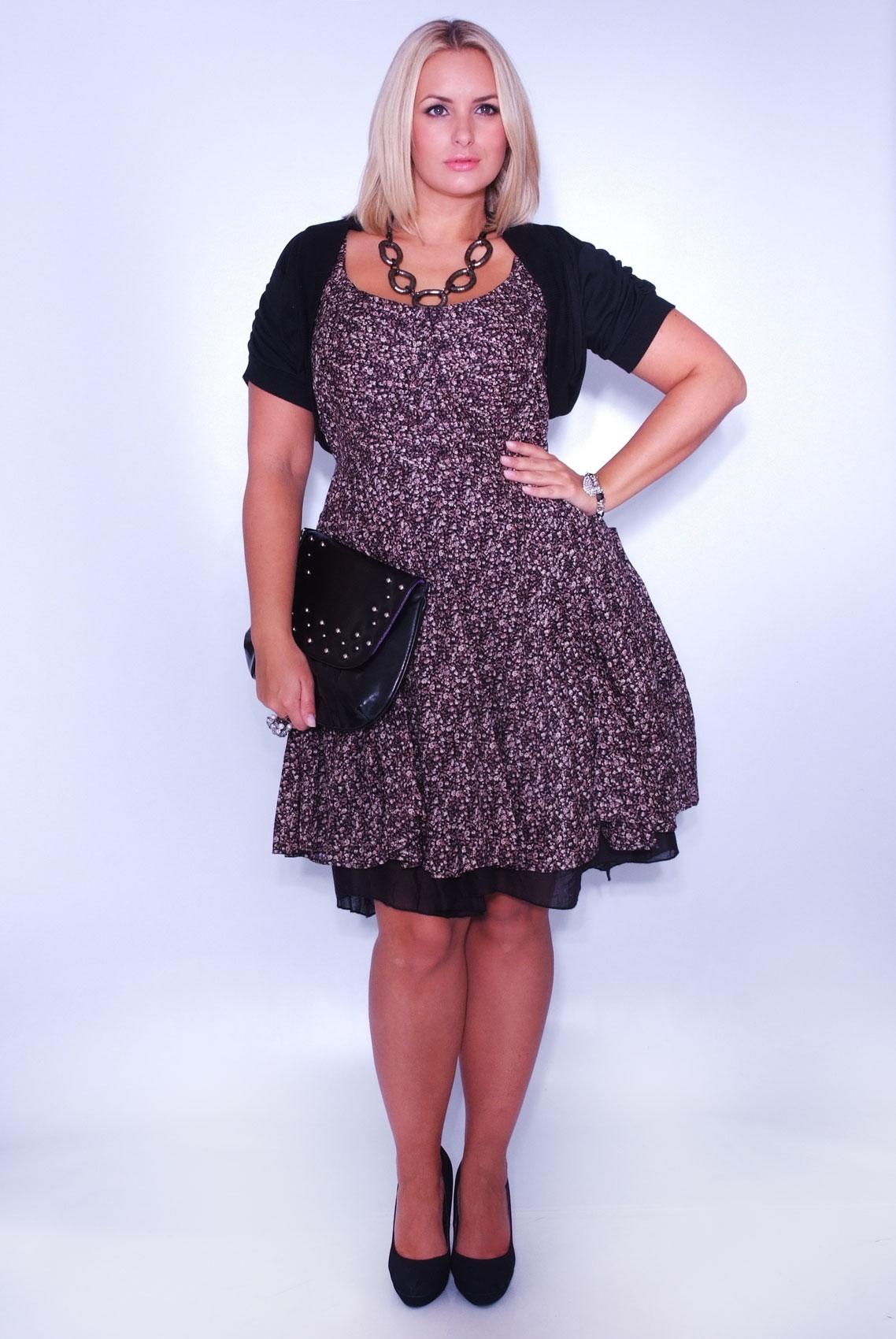 Платье из шитья для полных женщин
