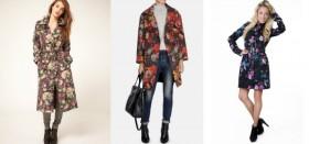 Пальто с цветами: с чем носить такую яркую деталь гардероба?
