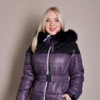 Зимняя куртка для полных