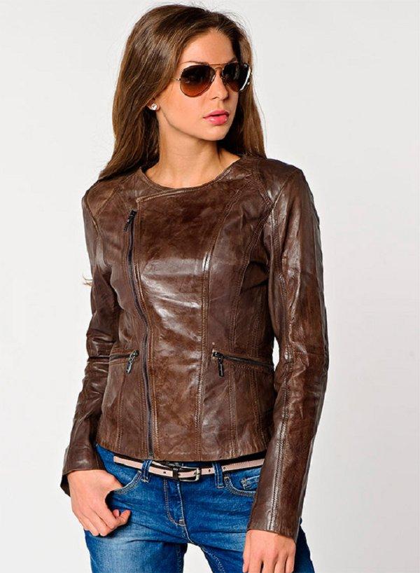 Купить Кожаную Куртку Со