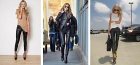 Где можно купить кожаные женские брюки в Москве?