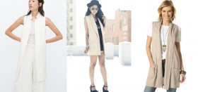 В каких интернет-магазинах можно купить женский длинный жилет без рукавов?