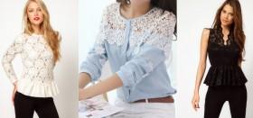 Как выбрать качественную блузку из гипюра и кружева?