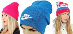 Как выбрать и где можно купить женскую шапку от фирмы Найк?