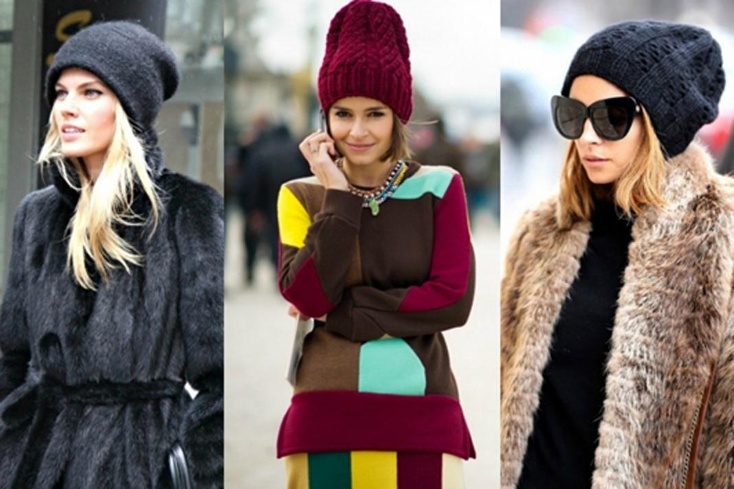 Вязать шапки женские зима 2017-2018-2016