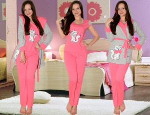 c01e3a106d8a859 Хорошее настроение дома создает подходящая одежда: например, в красивой и  удобной пижаме можно не только сладко спать, но и отдыхать в домашней  обстановке.